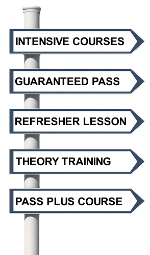 Lesson Services Sign